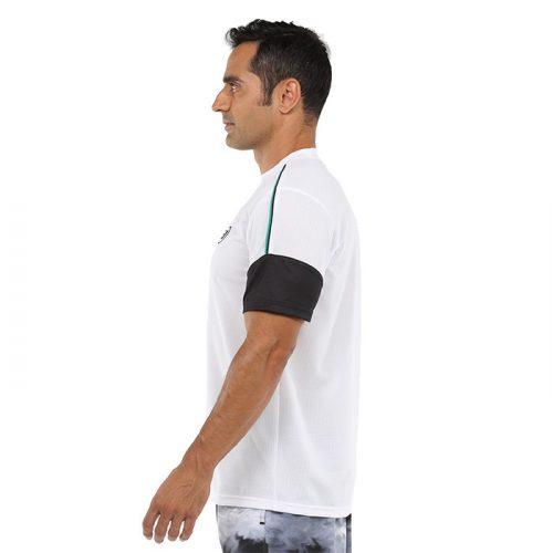 Camiseta Bullpadel Caqueta Blanca 2021