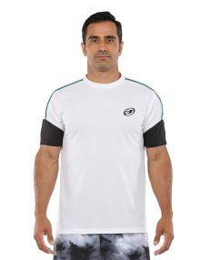 Camiseta Bullpadel Caqueta Blanca