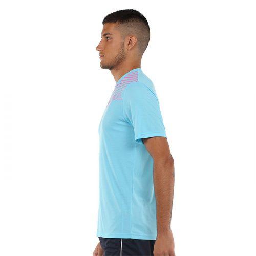 Camiseta Bullpadel Choco Azul Claro 2021