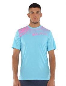 Camiseta Bullpadel Choco Azul Claro