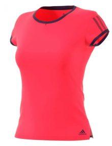 Camiseta Adidas Club Roja Mujer