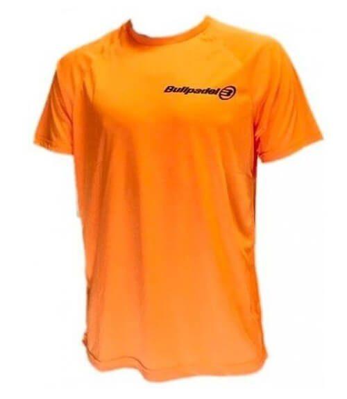 Camiseta Bullpadel Presente Naranja
