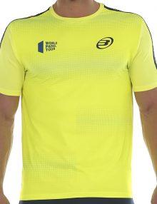 Camiseta Bullpadel Sansevi Amarilla