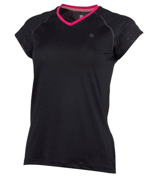 Camiseta K-Swiss Hypercourt Express Negra