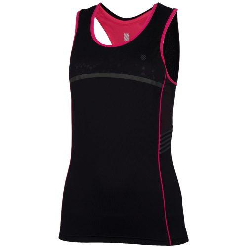 Camiseta Tirantes KSwiss Hypercourt Speed Negra