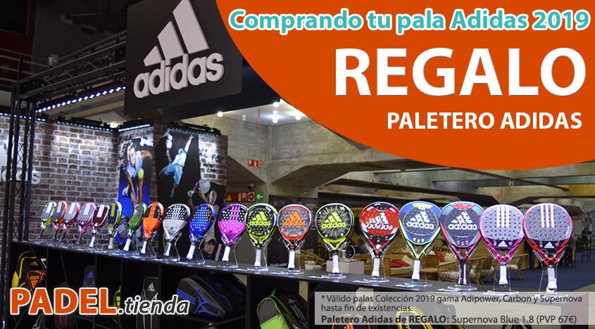 Paletero REGALO comprando palas Adidas 2019