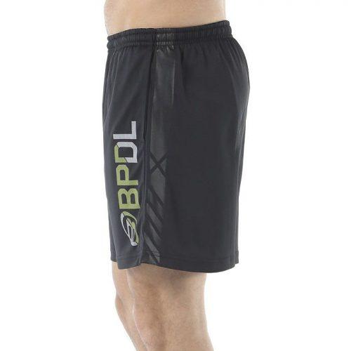 Pantalon Corto Bullpadel Cepeus Negro 19