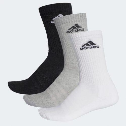 Calcetines Adidas Gris-Blanco-Negro
