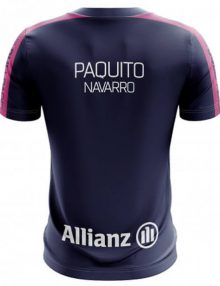 Camiseta Bullpadel Oficial Paquito Azul 2019
