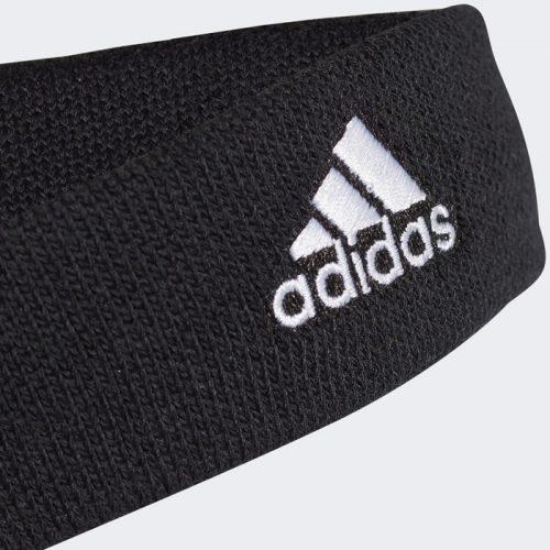 Cinta Cabeza Adidas Negra Detalle