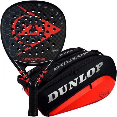 Pala Dunlop Aero Star Pro + Paletero