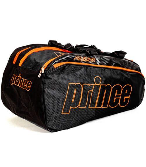 Paletero Prince Premier Negro-Naranja