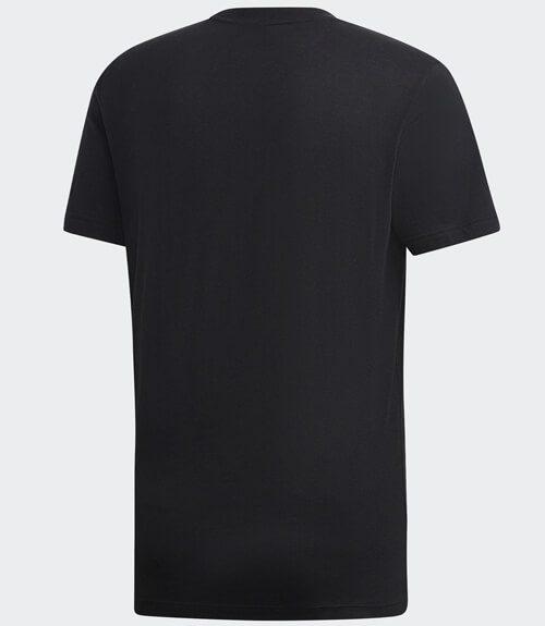 Camiseta Adidas Negra Algodon 2019