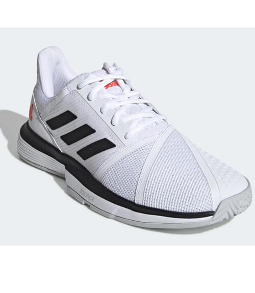garantía limitada nueva alta calidad Productos Zapatillas Adidas CourtJam Bounce Blancas y Negras - Nueva colección