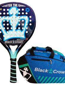 Pala Black Crown Piton Nakano 3K + Paletero