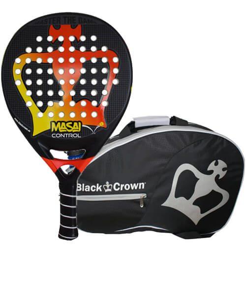 Pala Masai Control + Paletero Black Crown
