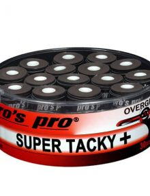 Tambor Overgrips Pros Pro Super Tacky Negros 30 uds