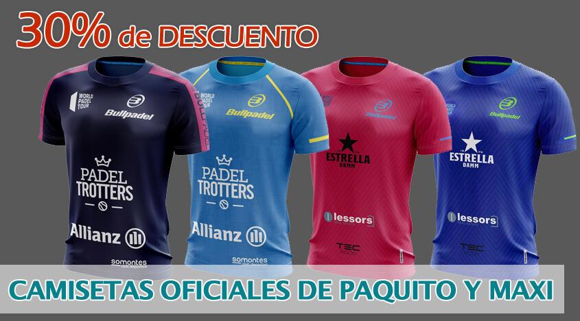 Camisetas Oficiales de Paquito y Maxi