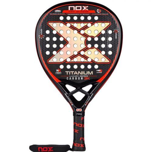Pala NOX Luxury Titanium 3K