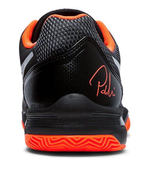 Zapatillas Asics Lima negras y naranja