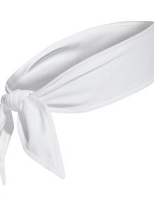 Banda Cabeza Adidas Blanca 2019
