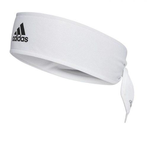 Banda Cabeza Adidas Blanca