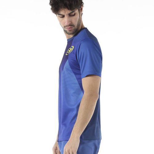 Camiseta Bullpadel Cup Azul Lavado 2019