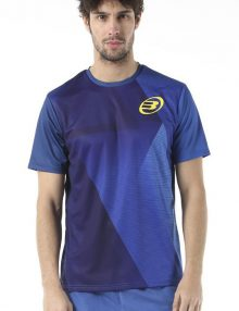 Camiseta Bullpadel Cup Azul Lavado