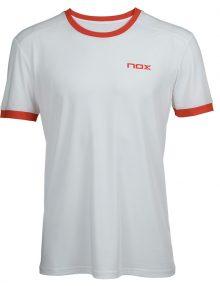 Camiseta NOX Team Blanca-Roja