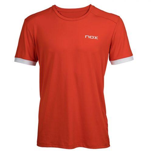 Camiseta Nox Team Roja-Blanca