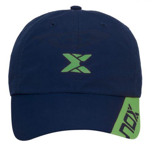 Gorra NOX Azul Logo Verde 2020