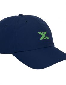 Gorra NOX Azul Logo Verde