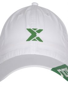 Gorra NOX Blanca Logo Verde 2020