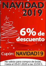 6% Descuento Navidad 2019 Pádel