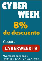 Descuento en Pádel Cyber Week 2019