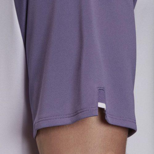 Camiseta Adidas Club Lila Detalle