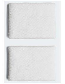 Muñequeras Adidas Blancas Pequeñas CF6279