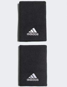 Muñequeras Adidas Negras Grandes