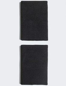 Muñequeras Adidas Negras Grandes 2021