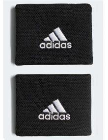 Muñequeras Adidas Negras Pequeñas
