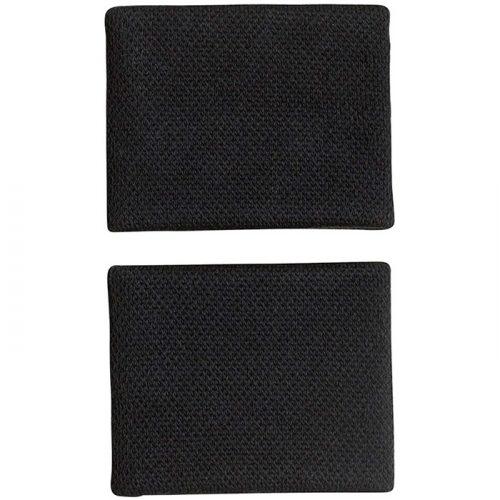 Muñequeras Adidas Negras Pequeñas CF6280