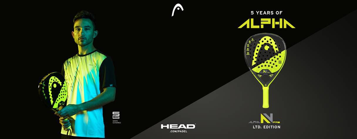 Pala Head Alpha Pro V Detalle