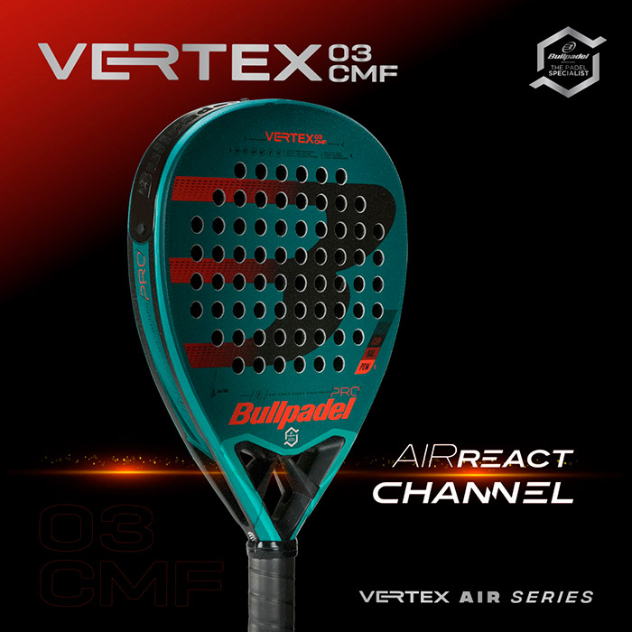 Vertex 3 Comfort de Bullpadel