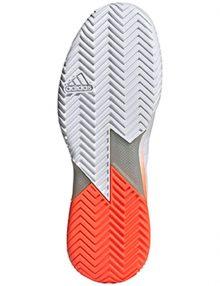 zapatilla adidas adizero ubersonic 4 orange suela