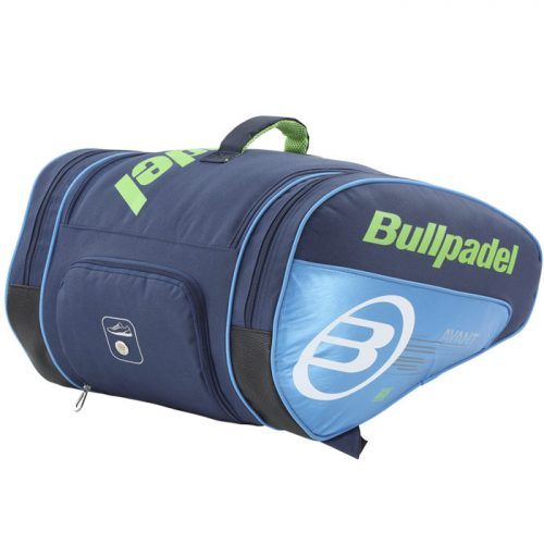 Paletero Bullpadel Big Capacity Azul
