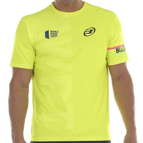 Camiseta Bullpadel Salbur Amarilla 2020