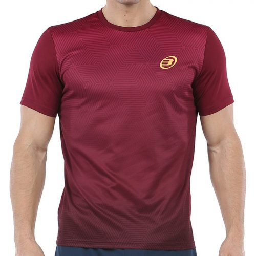 Camiseta Bullpadel Cenegui Vino 2020