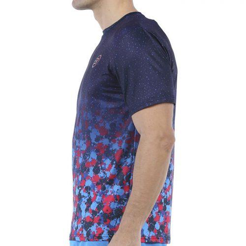 Camiseta Bullpadel Urano Azul Marino 2021