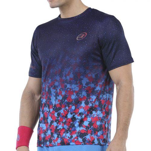 Camiseta Bullpadel Urano Azul Marino 21