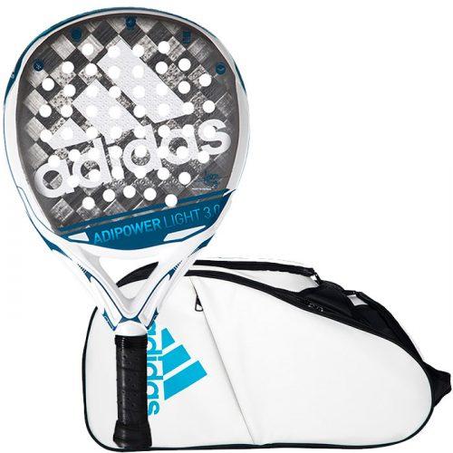 Pala Adidas Adipower Light + Paletero